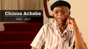 "Chinua Achebe- ""A great tree has fallen."""